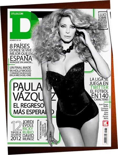 Paula Vázquez y Cristiano Ronaldo, dos por el precio de uno en DT, ¡barato, barato!