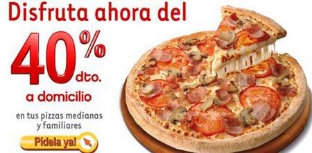 ¡A la caza del descuento on-line en Telepizza!