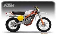 KTM 350 GS Freeride Classic by Oberdan Bezzi