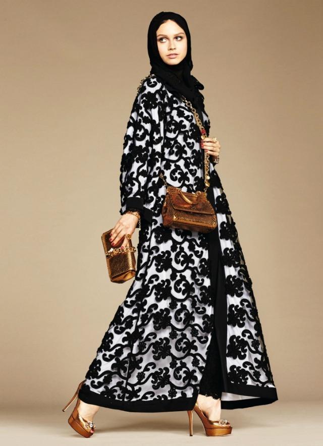 Foto de Dolce & Gabbana colección de hijabs y abayas (4/6)