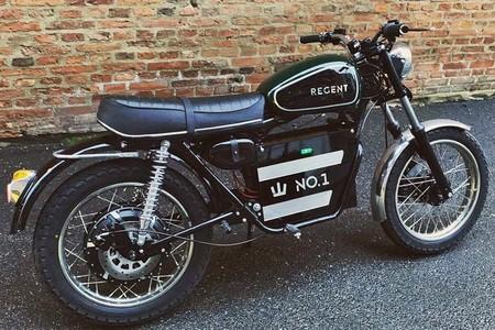 Esta es la demostración de que las motos eléctricas no tienen que ser obligatoriamente feas: Regent NO.1