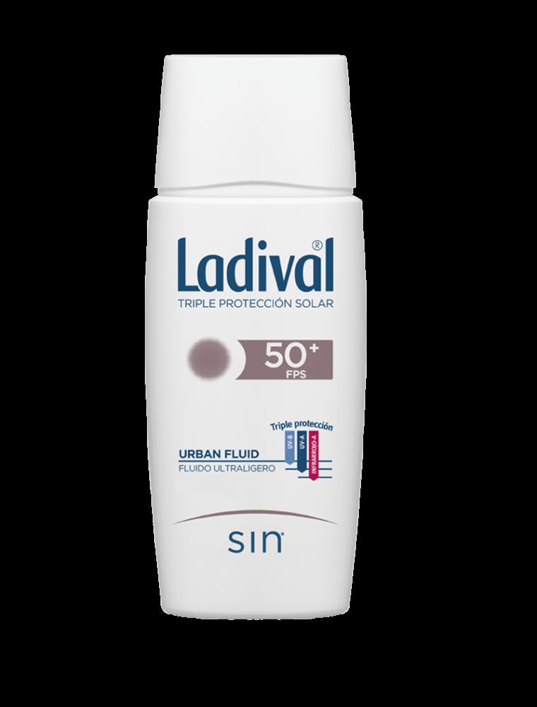 Ladival Urban Fluid Protector Solar - Oil Free - FPS 50+