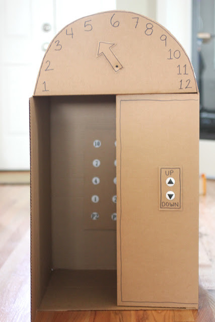 Manualidades Reciclados Caja Carton Elevador