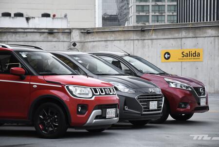 Nissan March Vs Hyundai Grand I10 Vs Suzuki Ignis Comparativa Opiniones Mexico 5