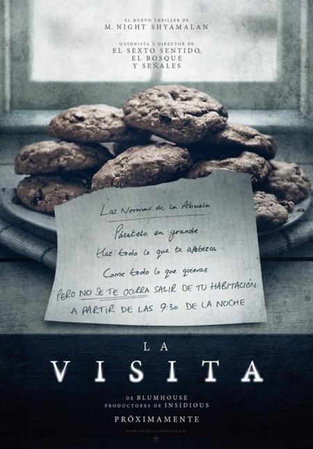 'La visita', carteles