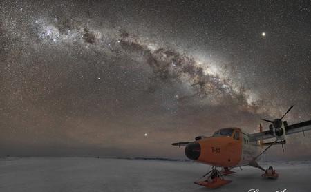"""""""Con paciencia y pasión se logran resultados sorprendentes"""", Jorgelina Álvarez, astrofotógrafa (que estuvo un año en la Antártida)"""