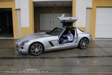 Mercedes SLS AMG, prueba en el Circuito Monteblanco (parte 1)