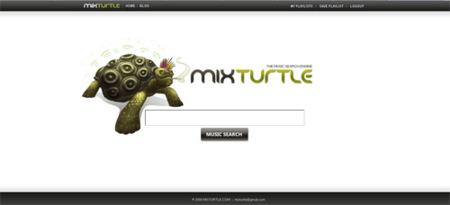 Mixturtle, potente y sencillo motor de búsquedas de temas musicales