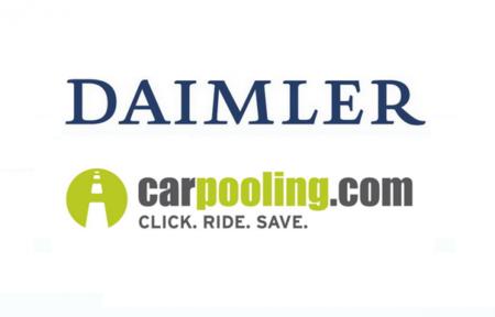 Daimler invierte en el servicio de coche compartido carpooling.com