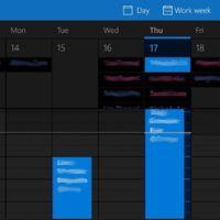 Correo y Calendario de Windows 10 se actualiza añadiendo soporte para tema oscuro y otras mejoras