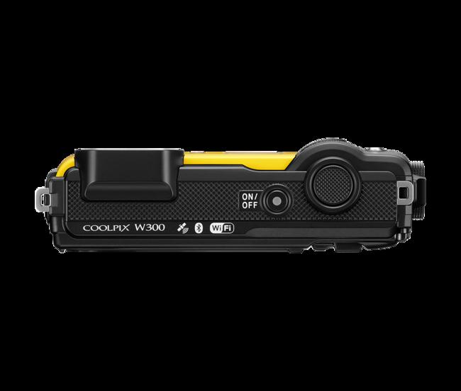 Nikon Coolpix W300 Yellow Top