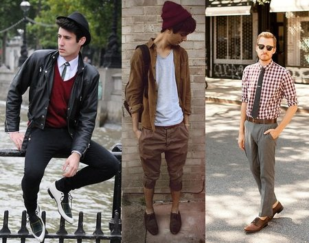 Los street-stylers apuestan por el burdeos, ¿y tú te apuntas?