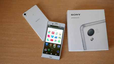Sony Xperia Z3 paquete