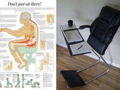 Después de los standing desk llega la Lean Chair