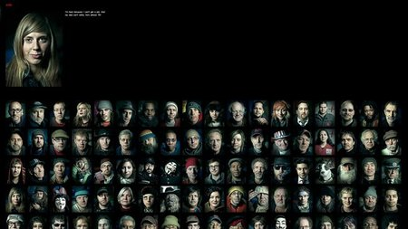 99 retratos con 99 historias de Occupy Wall Street