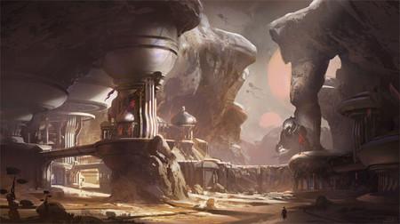 Este concept art de Halo 5: Guardians nos sabe a poco