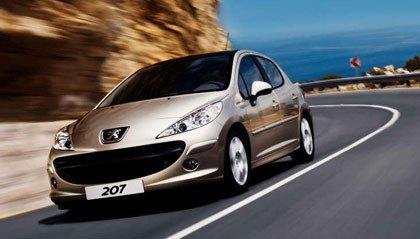 El Peugeot 207 en la web de Peugeot