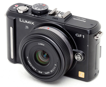 Panasonic GF1, ya es oficial