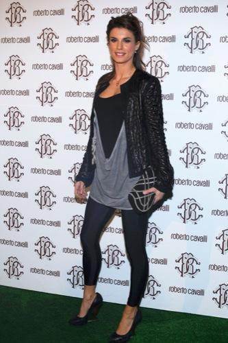 Celebrities en la Semana de la Moda de Milán, Elisabetta Canalis