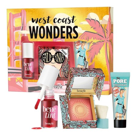 West Coast Wonders Kit para rostro y labios