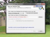 Universal USB Installer: crea versiones portables y persistentes de cualquier distribución de Linux