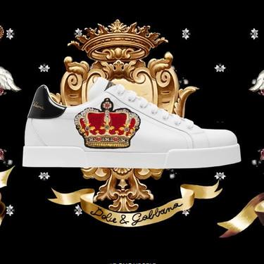 Dolce & Gabbana presentan el 'hazlo tu mismo' con unos sneakers que puedes personalizar al completo