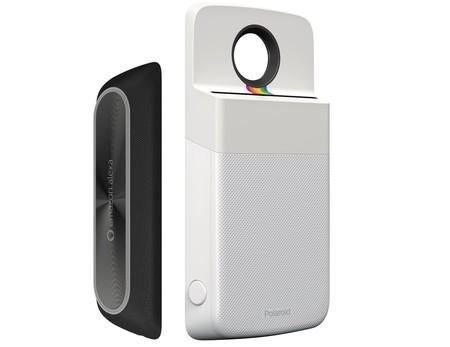 Estos son los próximos Moto Mods que llegarán: un altavoz de Amazon con Alexa y una impresora de fotos Polaroid