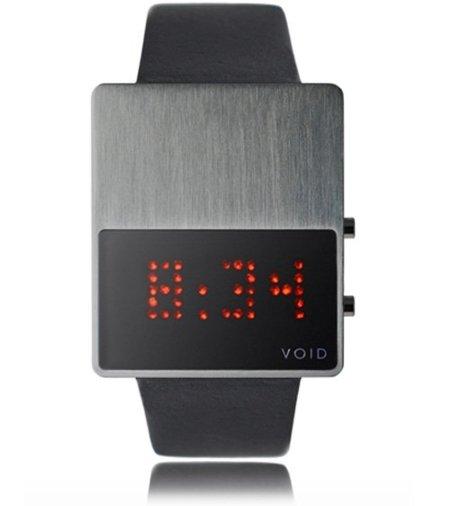 Reloj digital VOID, ahora con LEDs