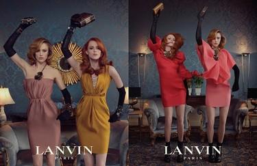 Raquel y Karen ¿puedo ser vuestra amiga (y vivir en el mundo Lanvin)?