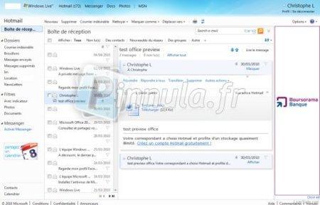 Vista por conversacion en Hotmail