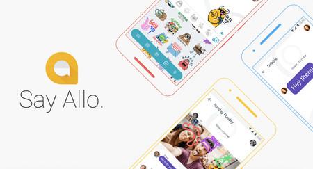 Google Allo 2.0 añade respuestas directas, buscador de GIFs desde el teclado y más