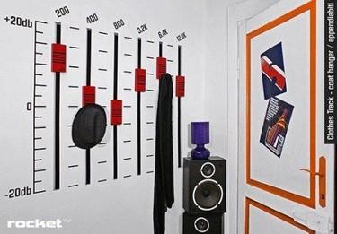 Detalle para la casa de... un disc jockey
