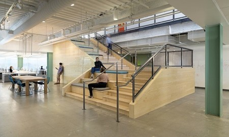 Espacios para trabajar: las oficinas de Evernote en Silicon Valley