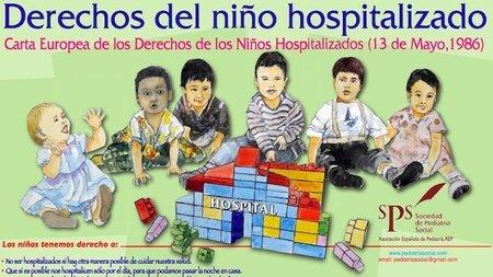 Derechos del niño hospitalizado (y de sus padres)