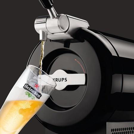 Tirador de cerveza Krups The Sub Vainilla, con 2 litros de capacidad, por sólo 69 euros y envío gratis