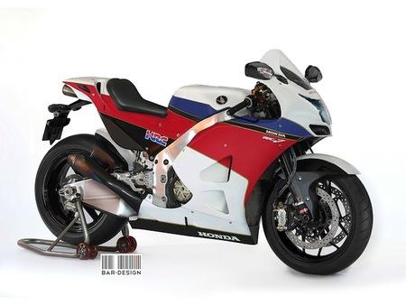 La Honda RC213V de calle según Luca Bar