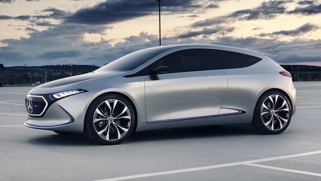Cinco claves con las que el Mercedes-Benz Concept EQA declara la guerra a los otros compactos eléctricos