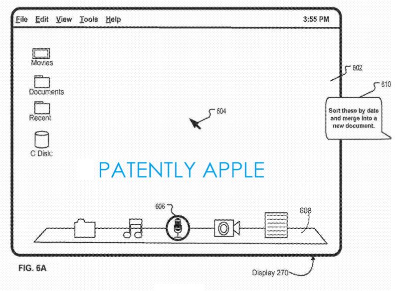 Patente de Siri para OS X