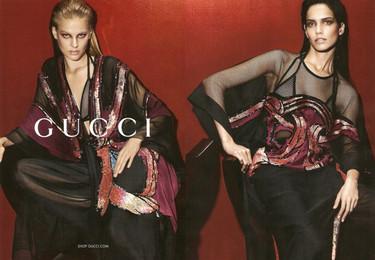 El lujo de Gucci no llega a su campaña Primavera-Verano 2014