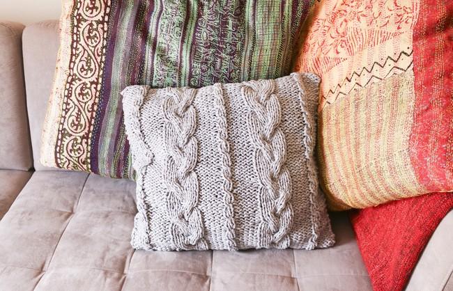 Teague Cushion Nivel Intermedio 3 Ovillos 65eu