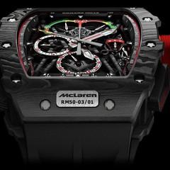 Foto 2 de 5 de la galería rm-50-03-tourbillon-split-seconds-chronograph-ultralight-mclaren-f1 en Motorpasión México