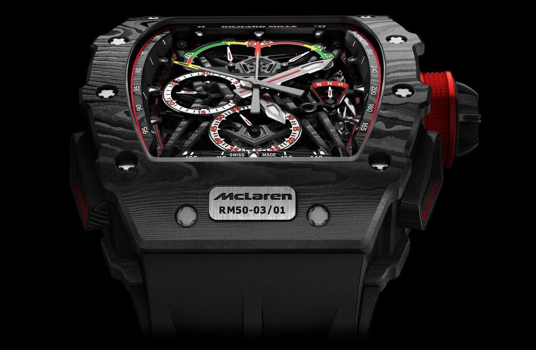 Foto de RM 50-03 Tourbillon Split Seconds Chronograph Ultralight McLaren F1 (2/5)