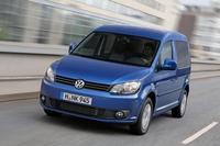 Volkswagen Caddy Bluemotion, rumbo a Frankfurt