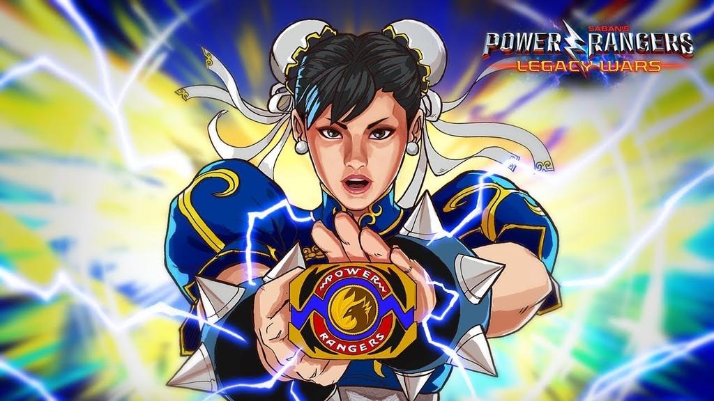 Chun-Li, de Street Fighter a los Power Rangers en Legacy Wars