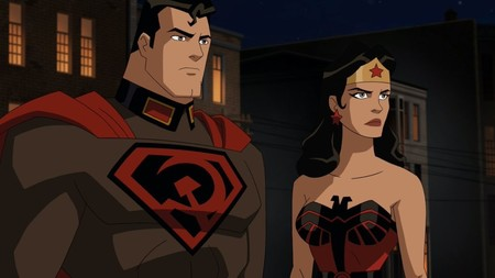 Superman Red Son Wonder Woman