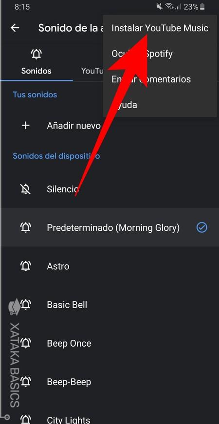 Instalar Youtube Music