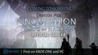 Dragon Age: Inquisition sorprende con la repentina llegada de su primera expansión