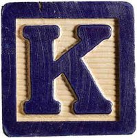 Cada vez que oigo la letra K, me da la risa