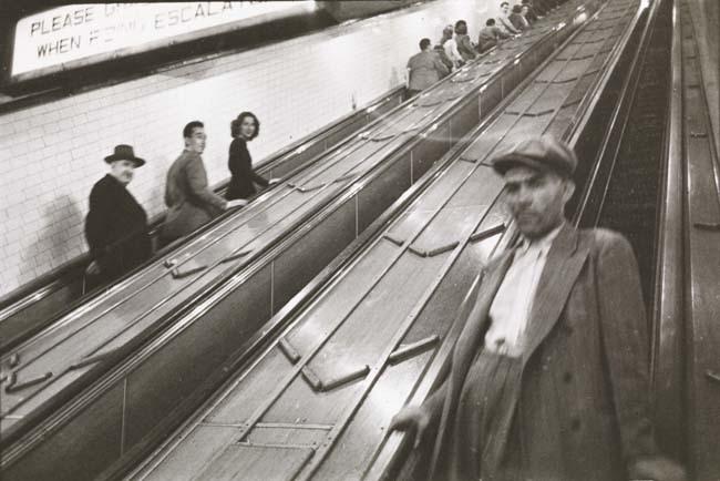 Foto de Stanley Kubrick y el metro de Nueva York (8/10)
