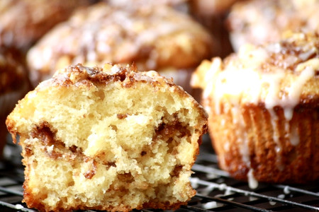Muffins Nueces Canela